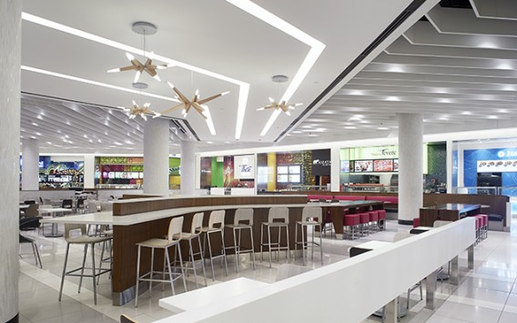 Rideau Centre Dining Hall Gabriel Mackinnon Lighting Design
