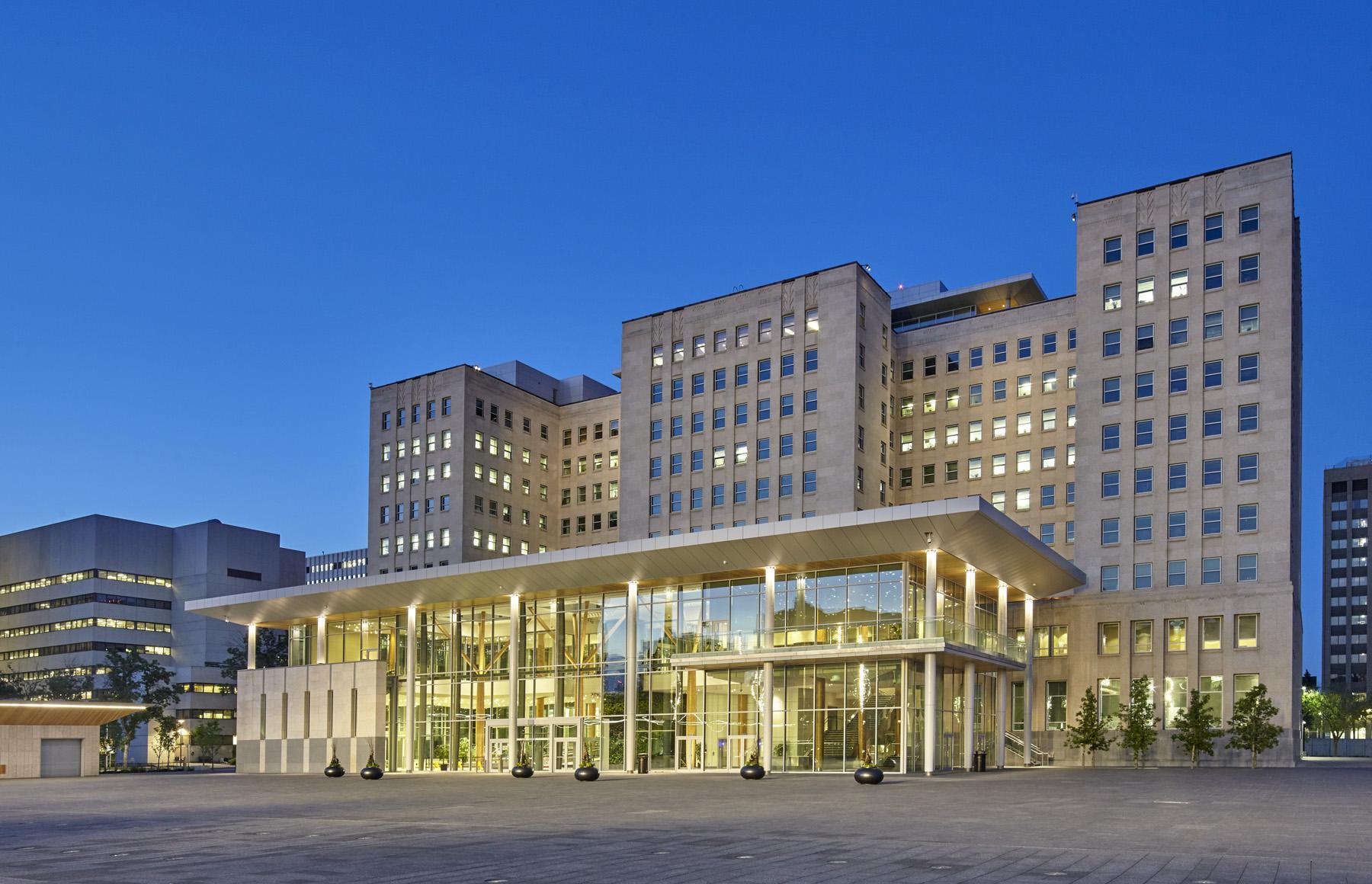 Edmonton Federal Building & Centennial Plaza - Gabriel ...