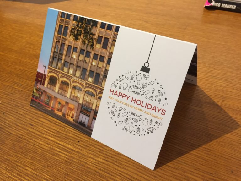 GMLD Christmas Holiday Card - Front