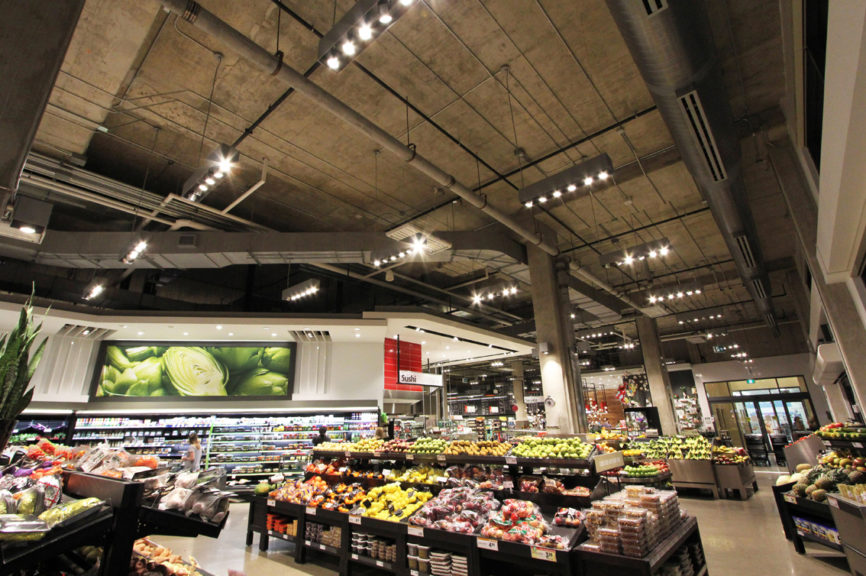 769 Metro Parklawn - Produce Section - Retail Lighting Design