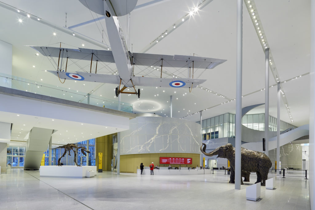 Royal Alberta Museum - Lobby - Tom Arban